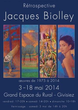 Biolley - Affiche Rétrospective-