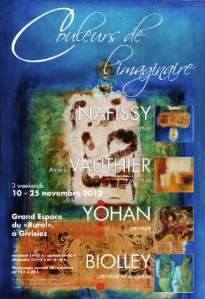 Affiche Expo Givisiez 2012-